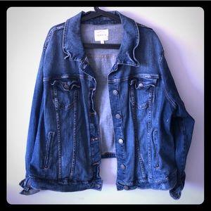 Torrid plus size stretch denim jacket 3X